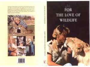 For the love of wildlife book cover